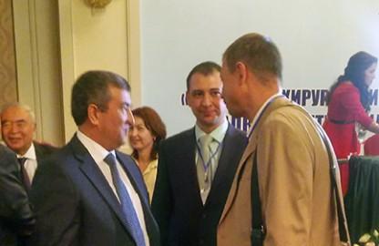 Врачи «Визус-1» участвовали в международной конференции в Ташкенте (Узбекистан)