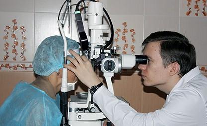 Лазерное лечение заболеваний глаз